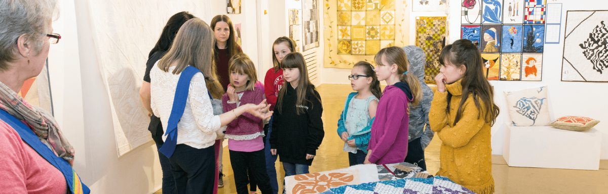 School Group Learning in a Museum